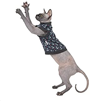 Kotomoda shirt pour chat Ancres (M)