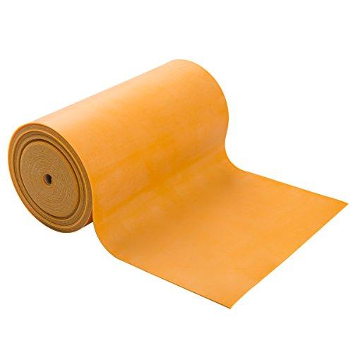 Trainingsband / Gymnastikband, Länge 5,5 m, CanDo® Go-Band, gold (ultra schwer)