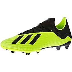 adidas Db2183, Scarpe da Calcio Uomo, Giallo (Syello/Cblack/Ftwwht Syello/Cblack/Ftwwht), 44 EU