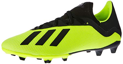 adidas Herren X 18.3 Fg Fußballschuhe, Gelb (Amasol/Negbás/Ftwbla 001), 39 1/3 - Adidas Football Schuhe