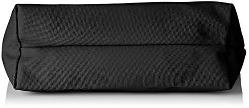 Lacoste Damen Nf1888po Umhängetaschen, 29.5 x 14 x 35 cM Schwarz (Black)