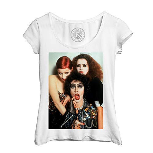 Frauen T-Shirt Foto von Star Berühmte Rocky Horror Picture Show Musik Rocky-star