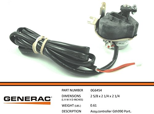 Generac 0G6454 OEM RV Guardian Stepper Motor Assembly - GTH990 Controller Portable - Replacement Part (Clock General Electric)