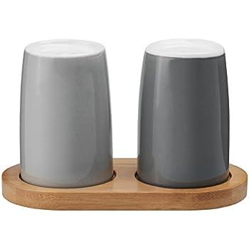 Emma Salz und Pfefferset Grau Stelton Tisch & Tafel Küche ...