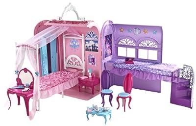 Barbie X3706 - Maletín-Habitación De Princesas (Mattel) de Mattel