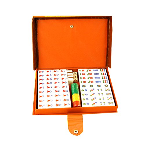 SHOME Mini Mahjong Classic Mahjong Spiele Traditionelles