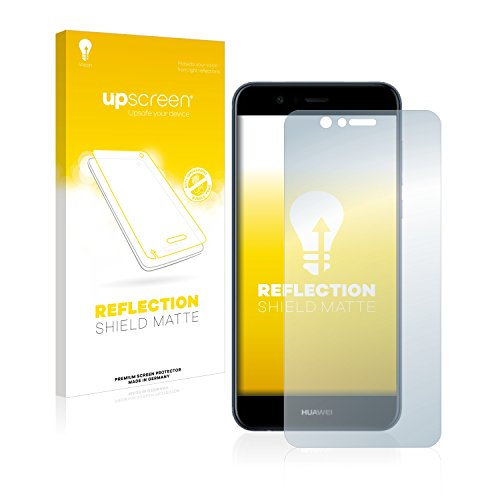 upscreen Matt Schutzfolie kompatibel mit Huawei Nova 2 Plus - Entspiegelt, Anti-Reflex, Anti-Fingerprint