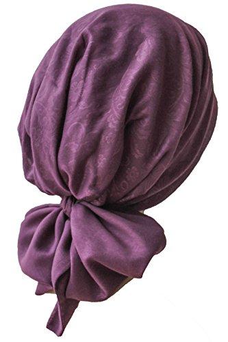 Deresina Pre-tie Ultraweiches Kopftuch Aus Baumwolle für Chemotherapie (Mulberry Printed)
