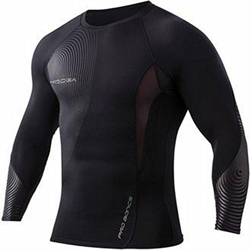 Power shirt-Maglia termica a compressione, strato base Bianco