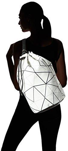 Boscha - Boscha, Borsa a mano/zaino Donna Multicolore (black/white)