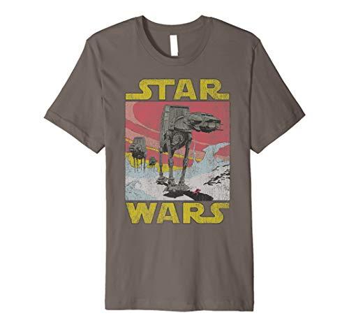 Star Wars AT-AT Sunset Logo Walker Graphic T-Shirt ()