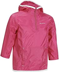 Quechua Children's Raincut Waterproof Hiking Jacket - Pink