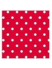 Procos- Tovaglioli Carta 3 Veli 33 x 33 cm, Red Dots, 20 Pezzi, Multicolore, PR80711