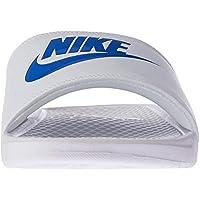 Nike BENASSI JDI, Men's Shoes, White (White/Varsity Royal-White 102), 8 UK (42.5 EU)