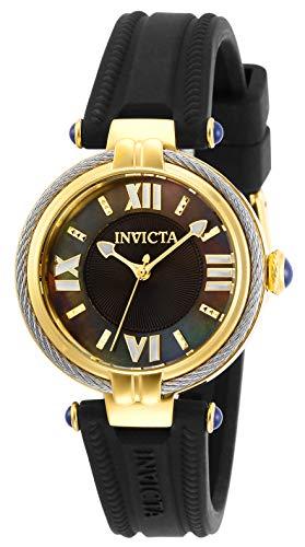 Invicta Bolt Reloj de Mujer Cuarzo Correa de Silicona Caja de Acero 29124