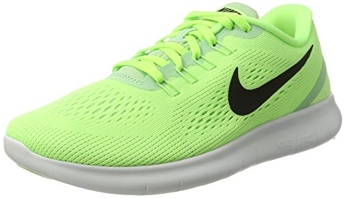 Nike Damen Free RN Laufschuhe, Grün (Ghost Green/Fresh Mint/Off White/Black), 38 EU