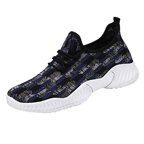 Luckycat Herren Damen Sportschuhe Laufschuhe mit Luftpolster Turnschuhe Profilsohle Sneakers Leichte Schuhe