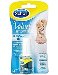 Scholl Velvet Smooth Nagelpflegeöl für die Pflege von Nägel und Nagelhaut, 1er Pack (1 x 7,5 ml)
