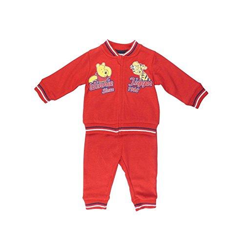Baby-Jungen Sportanzug, Baby-Jungen Set Sportanzug, Rot, in Größe 74/80