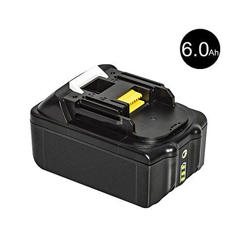 Preisvergleich Produktbild easyDecor Ersatzbatterien für Makita Werkzeugakku ErsatzAkku für Makita Akku BL1860 BL1850 BL1840 BL1830 BL1820 BL1815 BL1825 BL1835 BL1845 194204-5 5 LXT400 Li-Ion (6.0 1Pack)