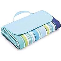 Ashleyoo Manta de pícnic, amping Playa Forma de bolsa - [Impermeable] [Resistente a la humedad][Plegable] [Protable] - 180Cm X 145Cm - alfombra de picnic