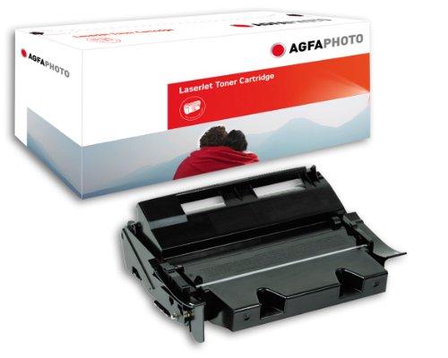 AgfaPhoto APTL7462E Tinte für Lexmark T630 Cartridge, 21000 Seiten, schwarz