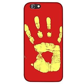 adraw Apple iPhone 6 / 6S Hülle, Thermo Case, Thermo Hülle, Wärmeempfindliches Back Case Cover, Fluoreszierende Smartphone Hülle, Schutzhülle, Handyhülle mit Farbwechsel, Stoßfest (Rot zu Gelb)