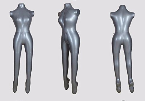 Sajani Premium Female(Ladies) PVC Plastic Air Filled Full body mannequin display dummy Inflatable