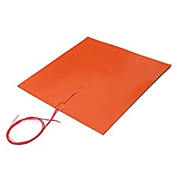 HITSAN 110v 1400W 500 * 500mm Silicone Heated Bed Heating Pad for 3D Printer
