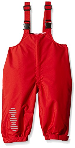 Minymo Mädchen Regenhose Basic 24-Rain Overalls-Solid, High Red, 3 Jahre