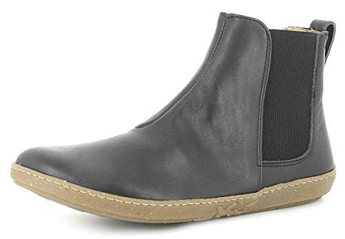 El Naturalista N5307 Coral Damen Chelsea Boots,Frauen Stiefel,Halbstiefel,Stiefelette,Bootie,Schlupfstiefel,Flach,Black,EU 36