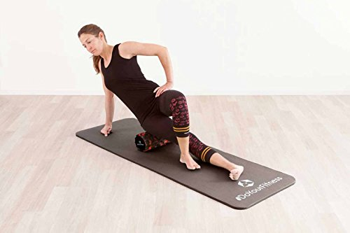 Fitnessmatte »Yamuna« / EXTRA-dick und weich, ideal für Pilates, Gymnastik und Yoga, Maße: 183 x 61 x 1,5cm, schwarz - 8