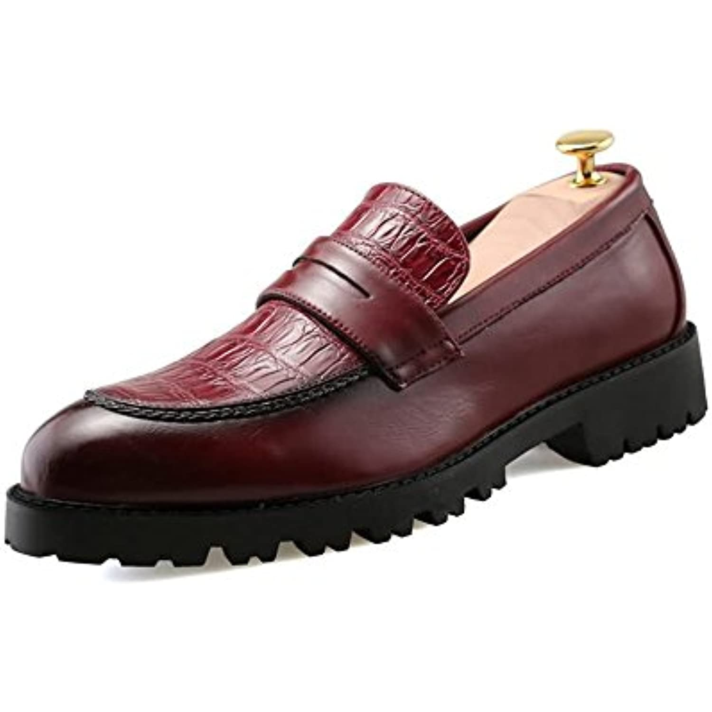 Homme Chaussure 2018 Hongjun Richelieus S HC7qwx01