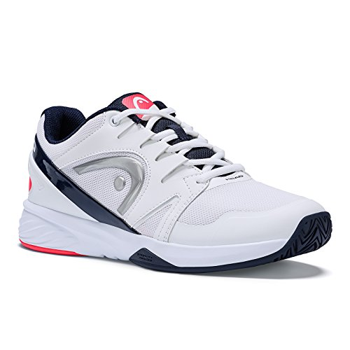 HEAD Damen Sprint Team 2.0 Womens Tennisschuhe, Weiß (White/Coral), 40 EU