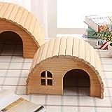 Willlly Igelhaus Winterfest Mit Boden Winterquartier Garten Igelhaus Outdoor Totoro Futterstation Igel Hütte Isolierboden (Color : 1, Size : 28x19.5x16)