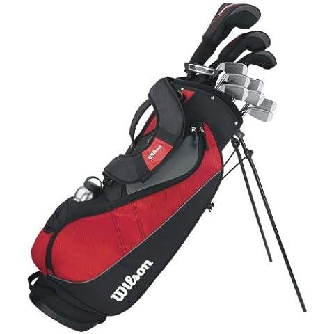 Wilson Profile VF - Bolsa con equipamiento de golf para hombre (palos de grafito, para diestros)