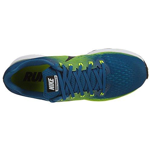 Nike Herren Air Zoom Pegasus 34 Laufschuhe blau / gelb / schwarz