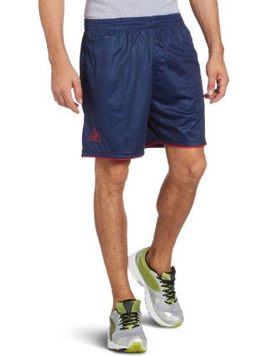 Peak Sport Europe Stripes Pantalon pour Homme Taille S Multicolore - Blanc/Bleu