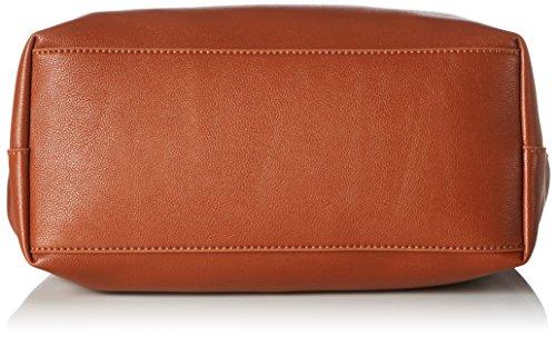 ESPRIT Damen 097ea1o029 Tote, 15x28x27 cm Braun (Rust Brown)