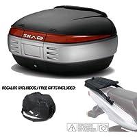 SHAD - KIT-SHAD-1553/214 : Kit fijacion y maleta baul trasero + bolsa interna de regalo SH50 BMW F800 GT ´13