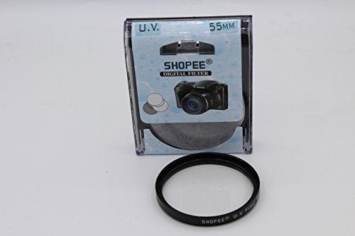 SHOPEE BRANDED 55MM SAFTEY UV LENS FILTER FOR Nikon D3100 D3200 D3300 D5000 D5100 D5200 D5600, D3400 DSLR Camera with Nikon 18-55mm f/3.5-5.6G VR AF-P DX and Nikon 70-300mm f/4.5-6.3G ED & SONY ALPHA 18-55MM LENS  available at amazon for Rs.175
