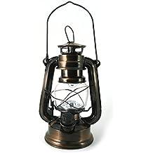Lámpara LED para huracanes, Linterna, luz para camping, senderismo, coche, cobertizo y jardín–12LED funciona con pilas LED farol de PK Green