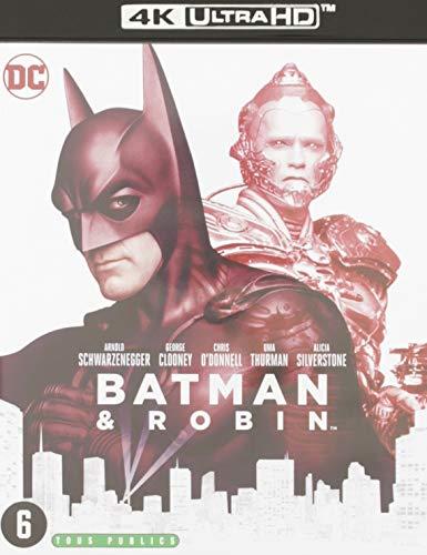 Batman & robin 4k ultra hd [Blu-ray] [FR Import]