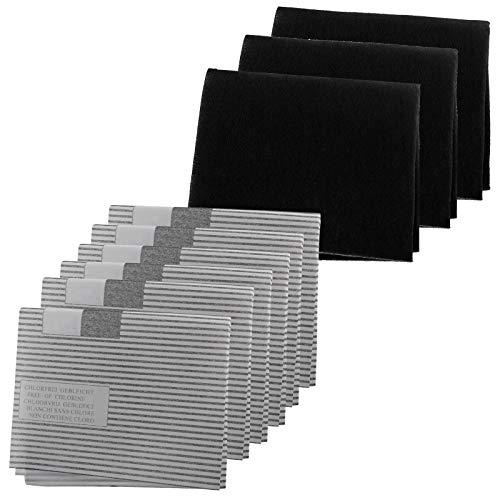 Spares2go - Kit de filtro de grasa para campana extractora de cocina...
