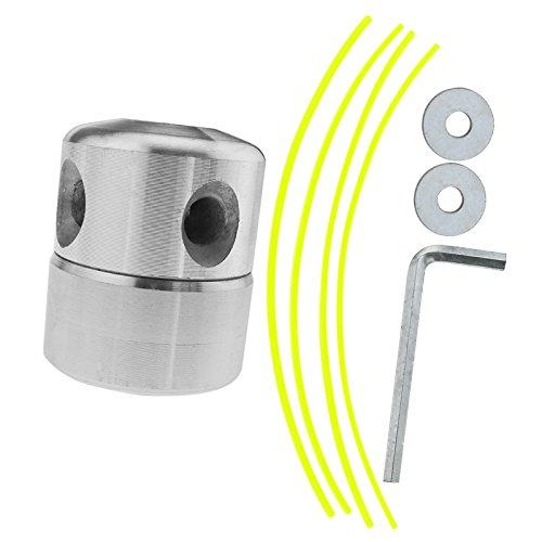 D2D 2x Aluminium Gras Trimmer Head Rasenmäher Zubehör Bobbin Set Garden Benzin Motorsense Tools -