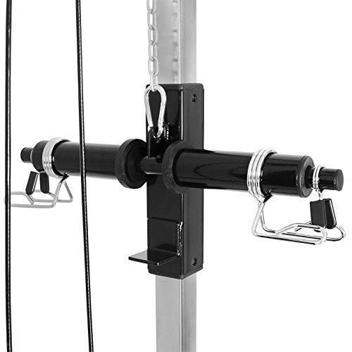 Mirafit Multi Gym Lat Pull Down Machine For Back Arm
