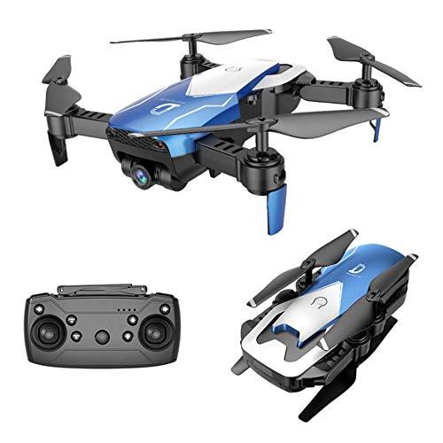 DHHZRKJ Faltbare Drohne der Brummenkamera mit HD-Weitwinkel-Live-Video-WiFi-Quadcopter-Fernsteuerungshubschrauber