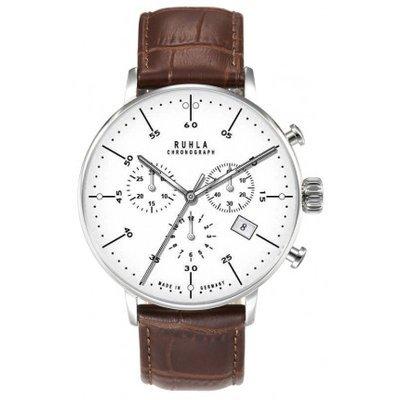Garde Ruhla 91203–Armbanduhr Herren, Lederband