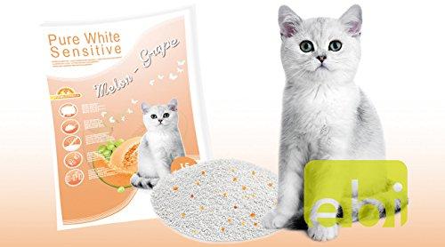 Europet Katzenstreu Pure White Sensitive Melone-Traube 15L -
