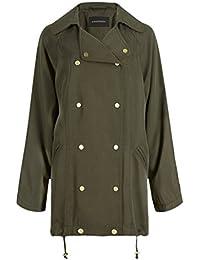 Anastasia - Womens Khaki Winter Parka Raincoat